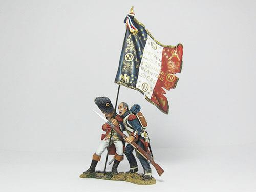 French Old Guards set - Helping His Officer Flagbearer