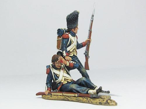 French Old Guards set - Saving His Friend