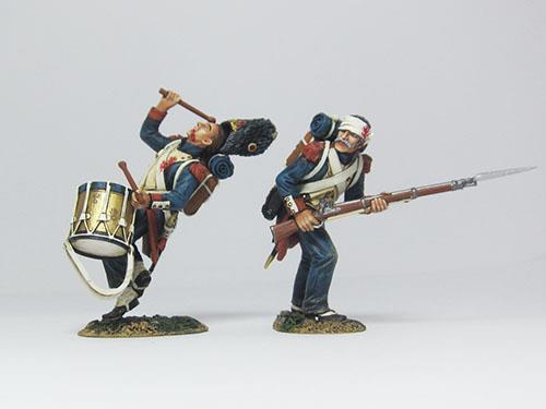 French Old Guards set - Guardsman And Drummer