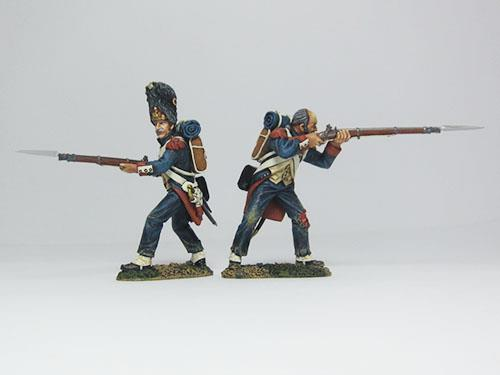 French Old Guardsmen set - Firing W/Musket
