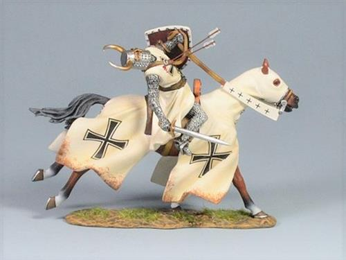 Teutonic Knight Shot with Arrows