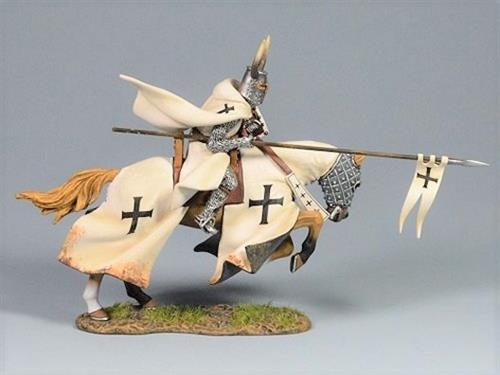 Teutonic Knight Advancing with Spear