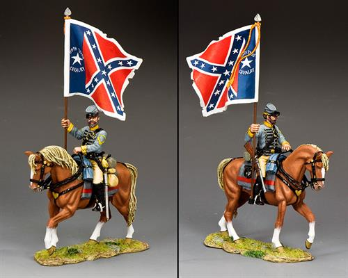 """29th Texas Cavalry Flagbearer"""