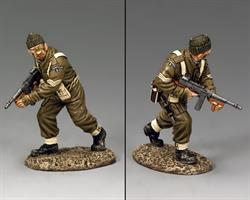 Advancing Tommy Gunner