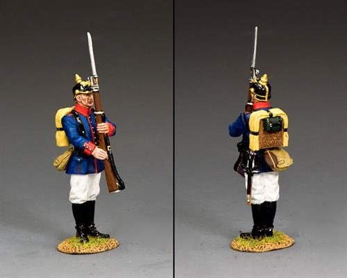 Prussian Line Infantry Present Arms