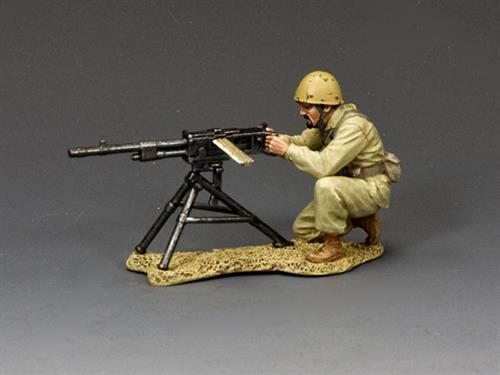 Kneeling Machine Gunner