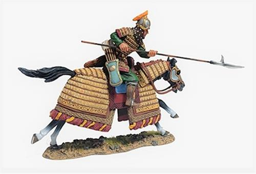 Mongol Warrior with Hooked Spear