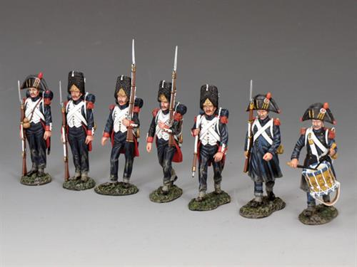 """The 'Old Guard' Marching set"" (7-figure set)"