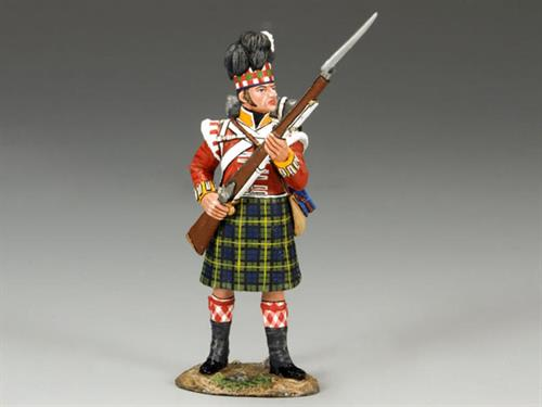 Gordon Highlanders Standing to Repel