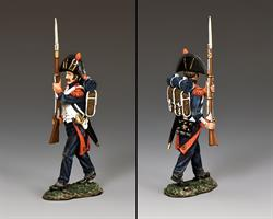 """Bicorne Guard Advancing"" (Shoulder Arms)"