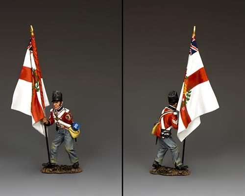The Temporary Regimental Standard Bearer