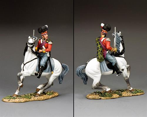 Gordon Highlanders Mounted Major