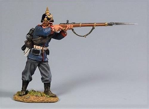 Prussian Soldier, Standing Firing Private, 2nd Foot Guard Regiment