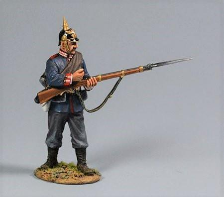 Prussian Soldier, Private Standing Pulling Bolt, 2nd Foot Guard Regiment