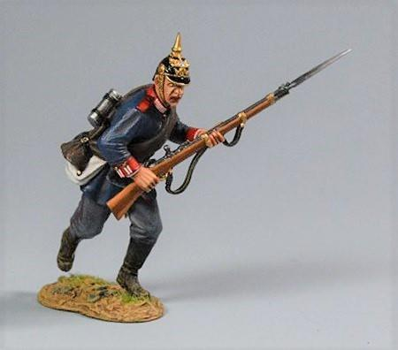 Prussian Soldier, Advancing Private, 2nd Foot Guard Regiment