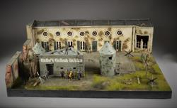 Reichschancellory bunkers - diorama