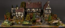 German Farm inn - diorama