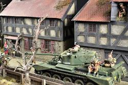 German Farm - diorama