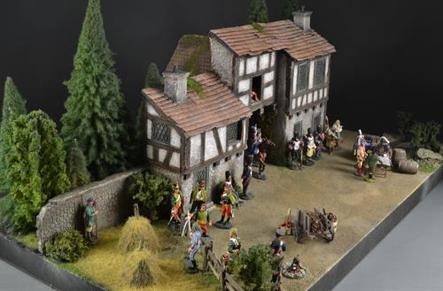 Medieval Farmhouse - diorama