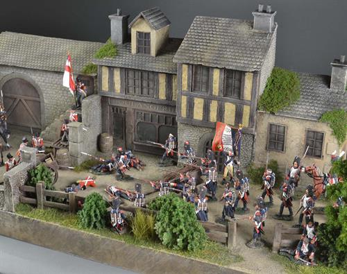 Medieval town - diorama