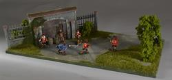 Gate-wall - diorama