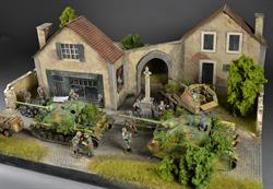 French Village - diorama
