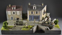Village of Normandy - Diorama