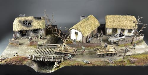 Russian Village - Diorama