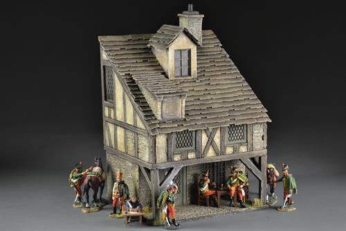 French medieval house