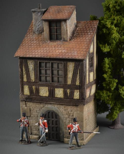 Medieval / half-timbered house