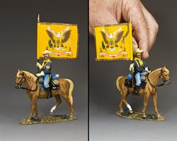 5th Cavalry Regimental Flagbearer