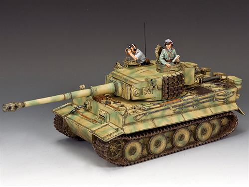 """Michael Wittmann's Battlefield First Tiger"""