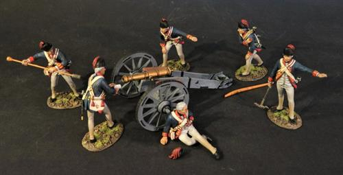 British Royal Artillery - set